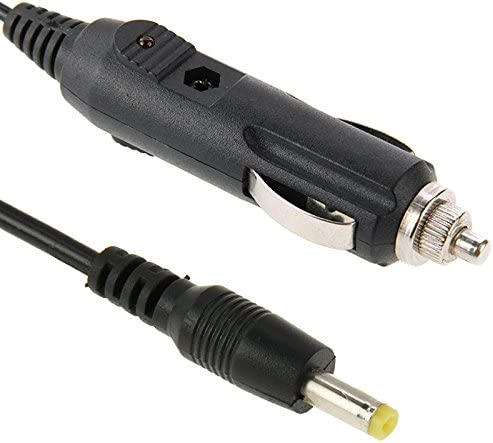 2A Car 4.0 x 1.7mm Power Supply Adapter Plug Coiled Cable Car Charger Length 40-140cm