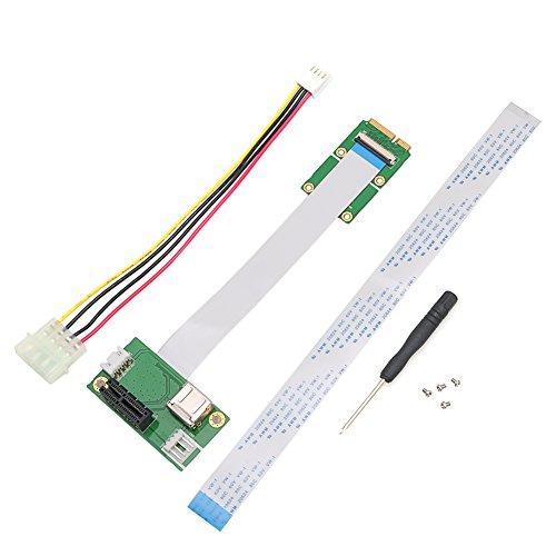 RingBuu Express PCI-E to PCI-E Mini 1X Extension Cord Adapter Card with USB Riser Card by RingBuu (Image #8)