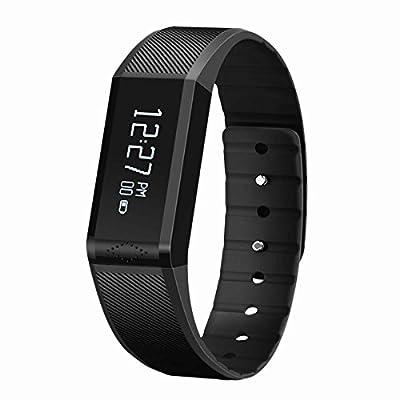 "Vidonn X6 0.88"" IP65 Bluetooth V4.0 Smart Watch Wristband Bracelet w/ Sports / Sleep Monitor"