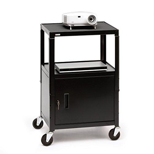 Bretford CA2642 Adjustable Cart with (Bretford Adjustable Monitor)