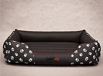 Hobbydog - Cama para Perro, Gris (Con Patas), L (65x50x20 cm