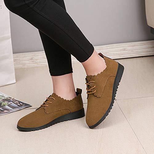 Bottes Caoutchouc Daim Femme Tige En Baskets Chaussures wfa4x