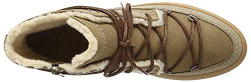 ESPRIT Sidney Damen Hohe Sneakers Beige (241 taupe 2)