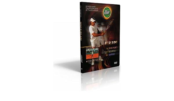 Amazon.com: Tenis con Clerc - SET DE 3 DVD - Trilogia Completa (Niveles Principiante, Intermedio & Avanzado): Jose Luis Clerc, Malena Gordo, Ariel LeGassa: ...