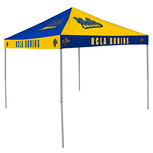 NCAA UCLA Bruins 9-Foot x 9-Foot Pinwheel Tailgating Canopy, Blue/Gold