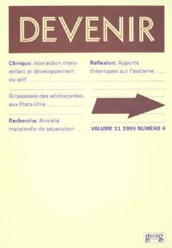 Devenir, volume 11, numéro 4, 1999