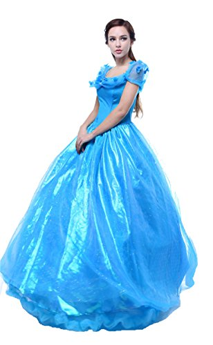 Halloween Deluxe Women's Princess Cosplay Dress Performance Costume Style B L by xcoser
