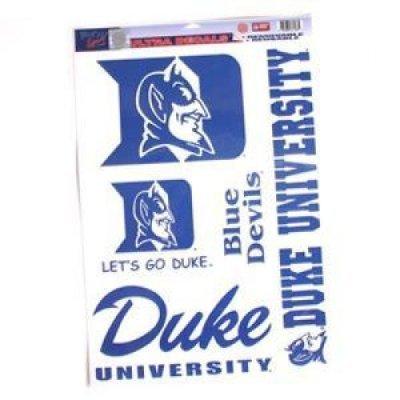 NCAA Duke University Multi Use Decal, 11 x (Duke University Car)