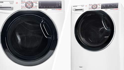 Hoover WDWFT 4118AH-01 lavadora Carga frontal Independiente Blanco ...