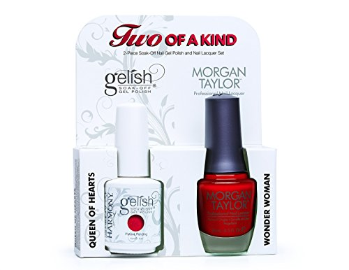 Gelish Core Duo Hot Rod Red and Pretty Woman Nail Polish