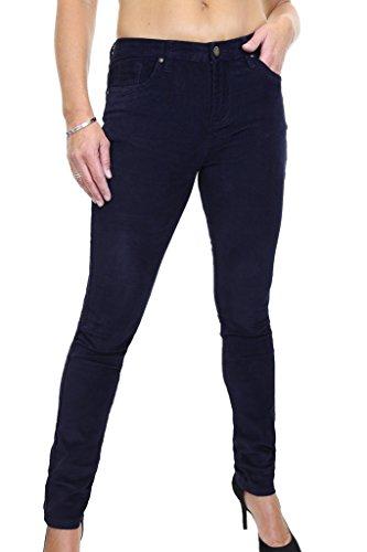 3 tel Ice Velours Jeans Extensible Marine Touch 1526 Bleu C Rw71q4U
