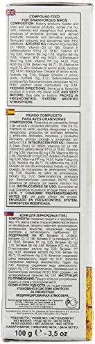 Fiory Alimento P/ájaros pastoncino allevamento Oro/ /100/gr