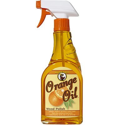 Howard ORS016 16 Oz Orange Oil Wood Polish Spray by Howard Products (Image #1)