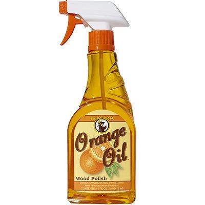 Howard ORS016 16 Oz Orange Oil Wood Polish Spray
