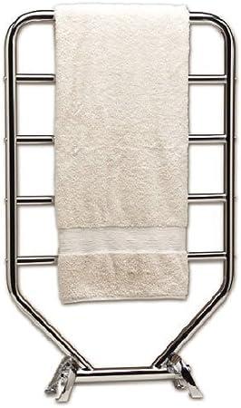 Warmrails RTS Traditional Wall Mounted or Floor Standing Towel Warmer Nickel Finish Renewed