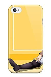4043429K636661404 original anime girl Anime Pop Culture Hard Plastic iPhone 4/4s cases