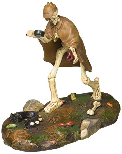Department 56 Halloween Collections Sherlock Bones Figurine Village Accessory, Multicolor]()