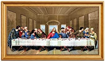 Eliteart Christ Supper Leonardo Art product image