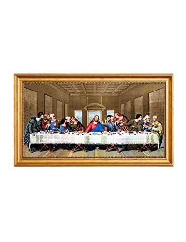 - Eliteart- Jesus Christ The Last Supper by Leonardo da Vinci Giclee Art Canvas Prints Framed Size:27