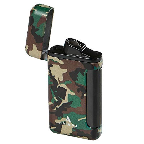 (Colibri Firebird Sidewinder Camo Lighter - Green)