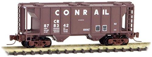 (Micro-Trains MTL Z-Scale PS2 2-Bay Covered Hopper Car Conrail/CR #878342)
