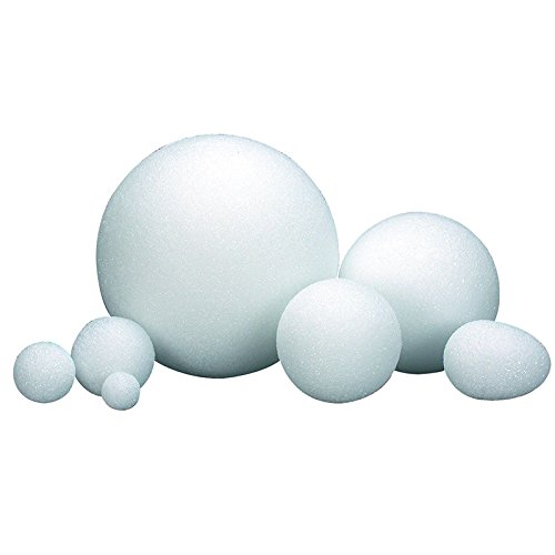 HYGLOSS PRODUCTS INC. STYROFOAM BALLS 3 INCH PACK