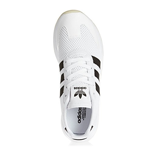 adidas Women's Flashback Low-Top Sneakers, Ftwwht/Cblack/Ftwwht White/Core Black