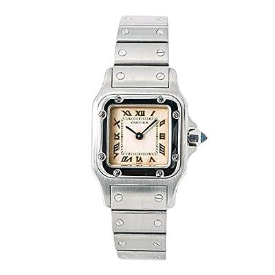 Cartier Santos Galbee Quartz Female Watch 1565 (Certified Pre-Owned) from Cartier