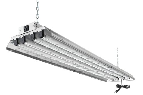 Lithonia Lighting 1284GRD RE 4-Light Heavy Duty Shoplight Lighting Fluorescent Lamp