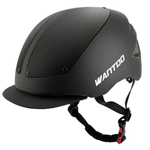 - Wantdo Boy's and Girl's Bicycle Commuter Multi-Sport Road Helmet Safety Street Helmet Lightweight Adult Bike Helmet