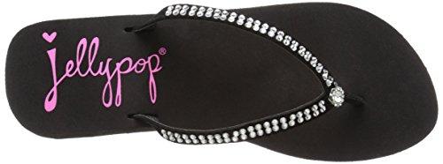 Flop Classy Wedge Women's Flip Jellypop Black xHqpSnwCz