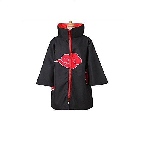 Boujee Gadgets Naruto Akatsuki Unisex Cosplay Cloak Costume (X-Large Naruto Akatsuki Cloak)