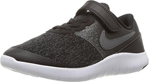 - Nike Kids Flex Contact (PSV) Shoes Black Dark Grey Anthracite White Size 3