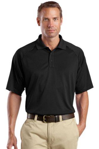 Cornerstone Men's Select Snag Proof Tactical Polo L Black