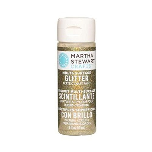Martha Stewart Crafts Multi-Surface Glitter Acrylic Craft Pa