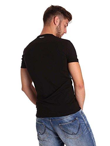 Antony morato MMKS01050 FA120001 T-shirt Uomo Nero Xxl