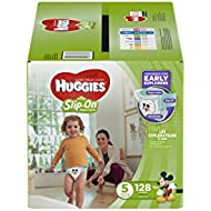 HUGGIES Little Movers Slip On Diaper Pants, Size 5