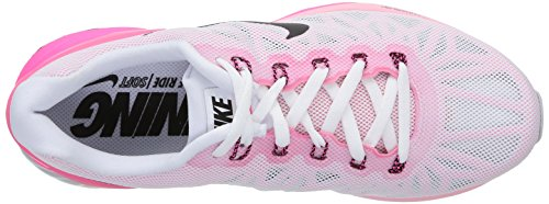 space white Lunarglide Femme black Running Nike pink Pow Blanc Entrainement 6 Pink BHOUw1nT
