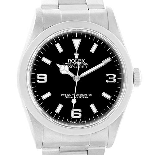 Rolex Explorer Automatic-self-Wind Male Watch 14270 (Certified Pre-Owned)