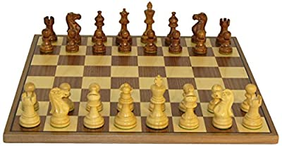 Sheesham American Emperor Walnut Board Chess Set