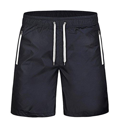 Avec Homme 9xl Casual Pantalon Décontracté Poches Jogging M Sport Séchage 3 Shorts Bermuda Yying Court Pantacourt Rapide Zipper Fitness 8pEwSqq1