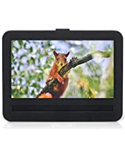 APEMAN Digital Photo Frame 8 Inch 4:3 High Resolution IPS Screen Digital Picture Frames Display MP3 Video Player Calendar Alarm Clock with Remote Controller Support USB SD Card, Gift Choice