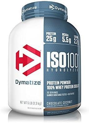 Dymatize ISO 100 加水分解100%ホエイプロテインアイソレート