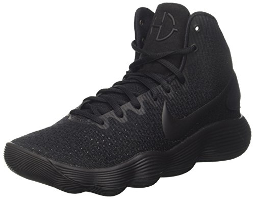 NIKE Mens Hyperdunk 2017 TB Basketball Shoe Black/Black