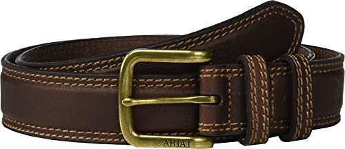 - Ariat Men's Classic Belt w/Double Keepers Brown 36
