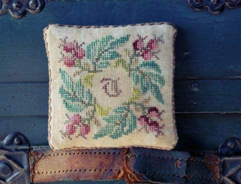 Ink Circles After The Roses Cross Stitch Pattern