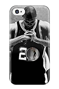 Special JudyK Skin Case Cover For Iphone 4/4s, Popular Tim Duncan Phone Case