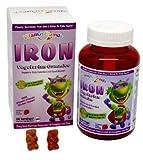 Vitamin Friends Iron Diet Supplement, 60 Count , Vitamin-d7d3 by Vitamin Friends