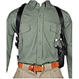 Blackhawk Nylon Vertical Shoulder Holsters - for 5.5-6 Inch Barrel .22 Autos & Airguns Black Right Hand