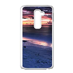 Good Quality Phone Case With HD Seascape Images On The Back , Perfectly Fit To LG G2